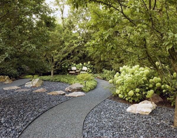 Stunning Backyard Gravel Walkway Designs