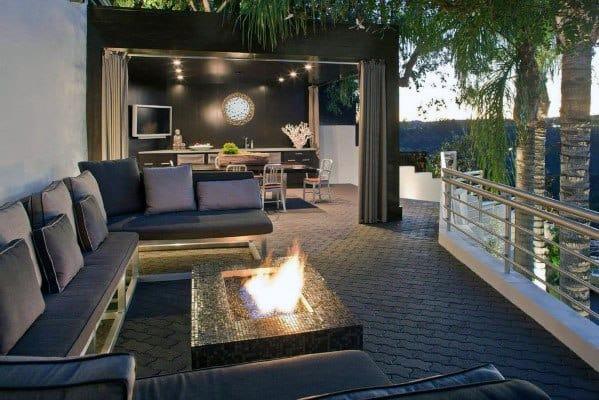 Stunning Backyard Modern Deck Designs