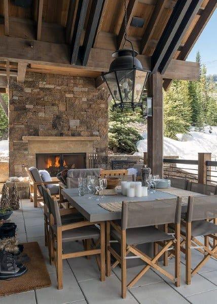 Stunning Backyard Patio Roof Designs