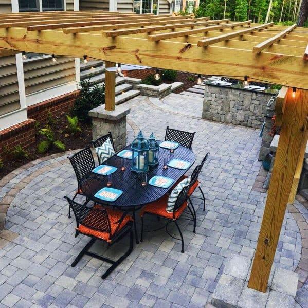 Stunning Backyard Paver Patio Designs
