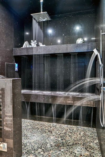 Stunning Bathroom Shower Lighting Designs