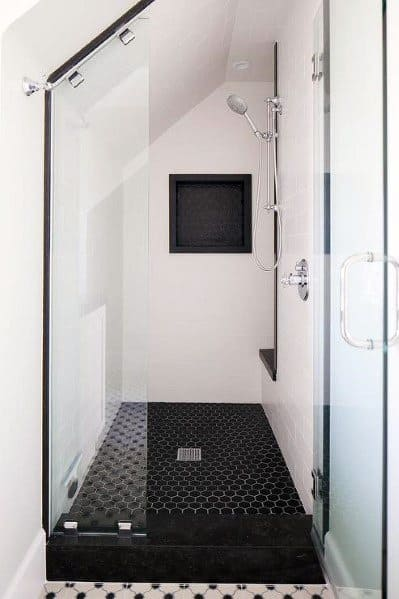 low ceiling small shower ideas