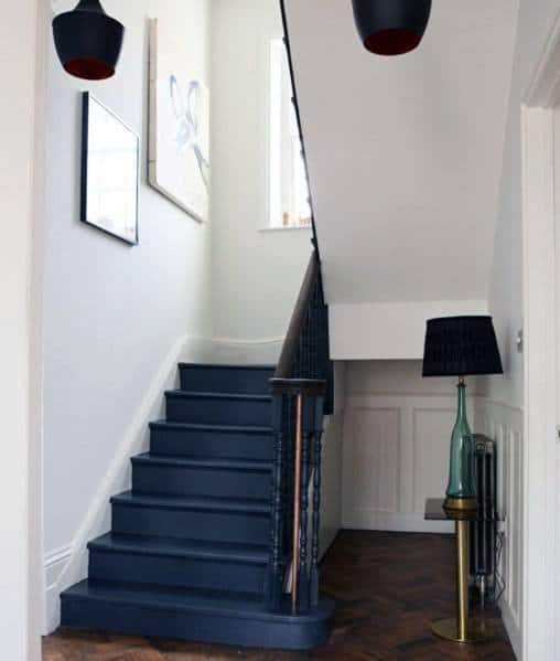 Stair Steps Ideas: Top 70 Best Painted Stairs Ideas