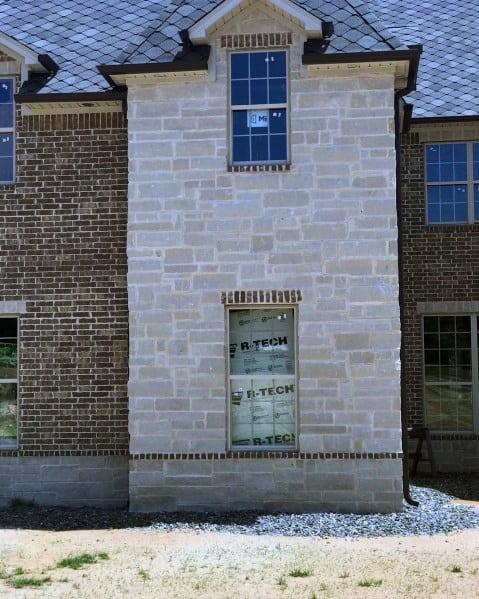 Stunning Cladding Brick And Stone Exterior Design