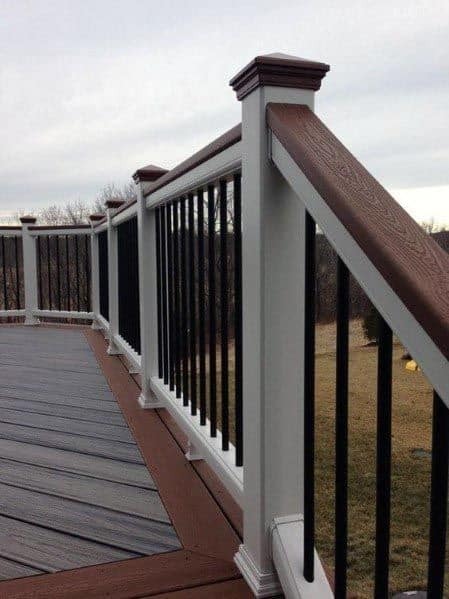 Stunning Exterior Deck Railing Designs