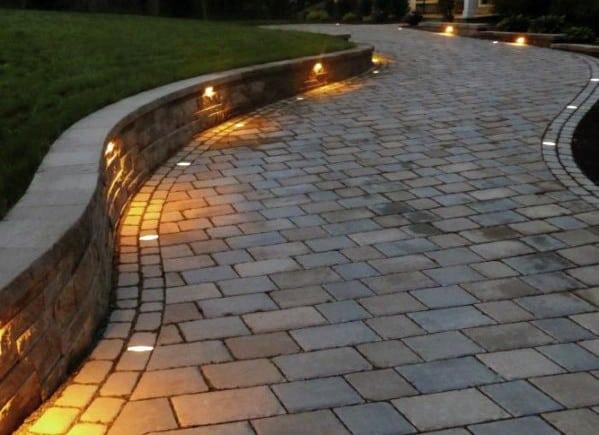 Stunning Exterior Driveway Lighting Designs