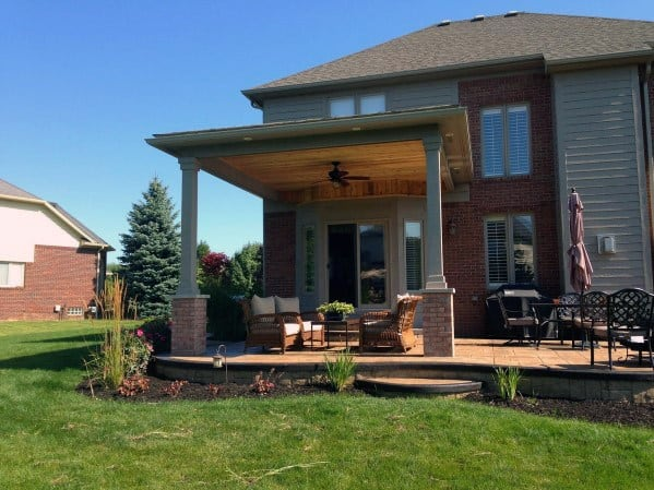 Stunning Exterior Patio Roofing Designs