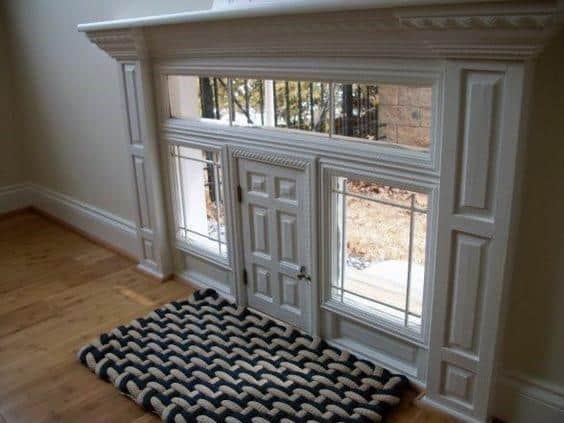 Stunning Home Doggy Door Designs