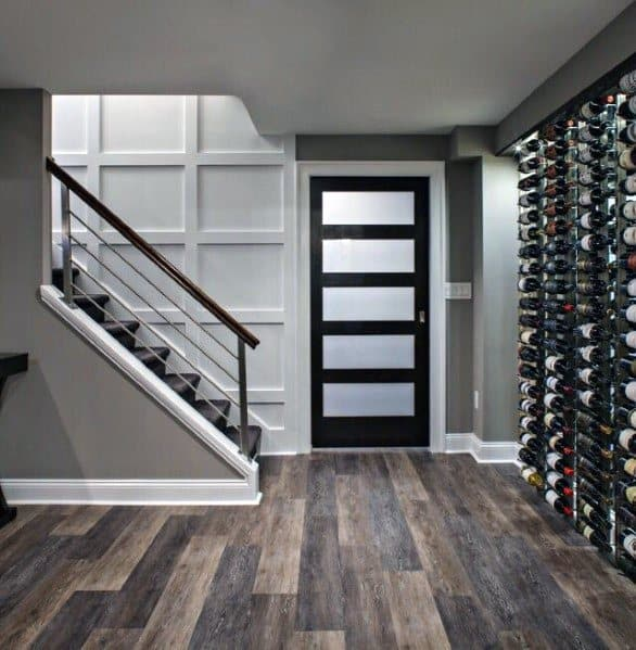 Stunning Interior Basement Staircase Designs