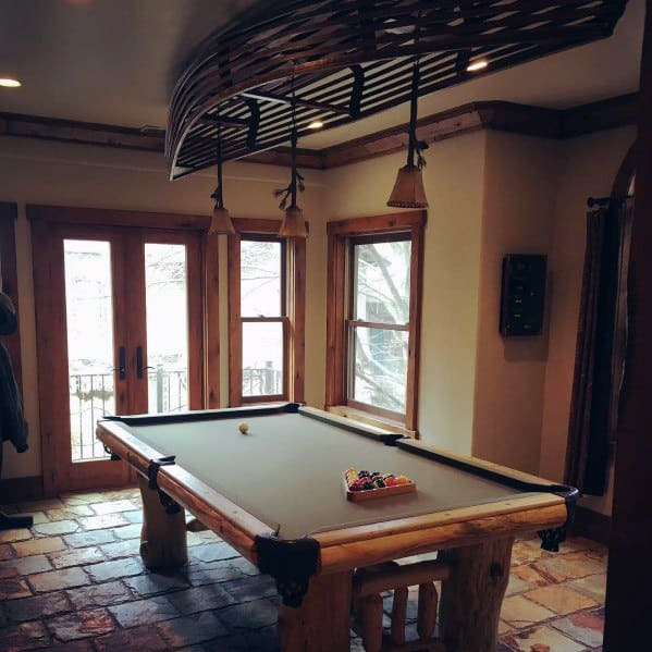 Stunning Interior Billiards Room Designs