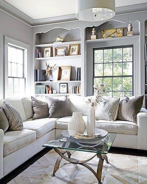 Stunning Interior Built In Bookcase Designs