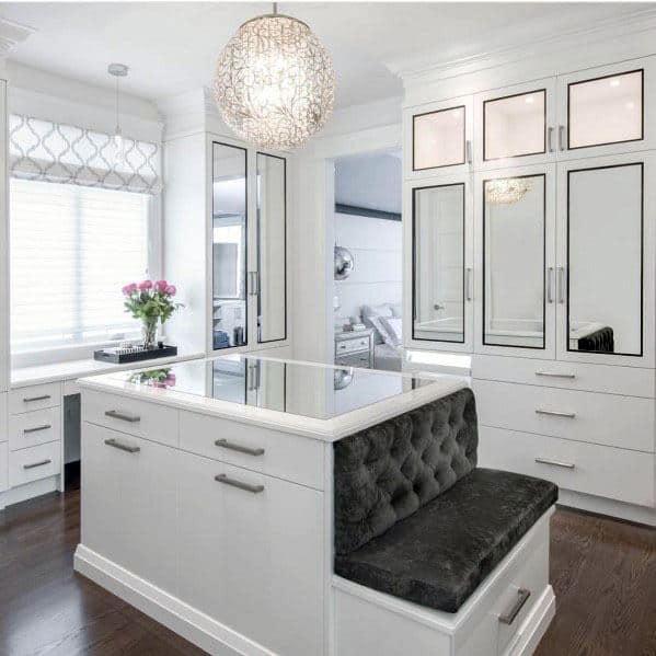 Stunning Interior Closet Lighting Designs