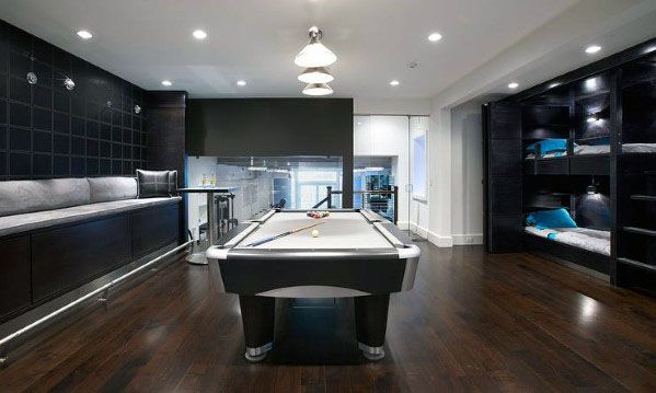 Stunning Interior Finished Basement Designs