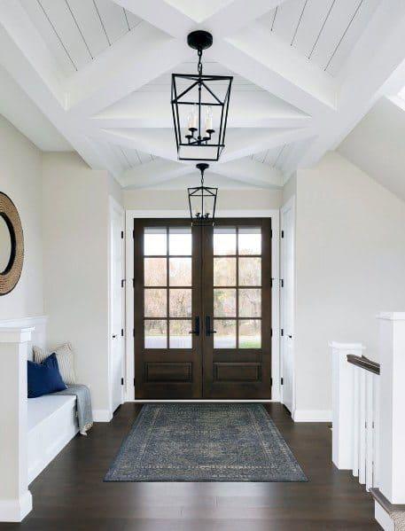 Stunning Interior Foyer Lighting Designs