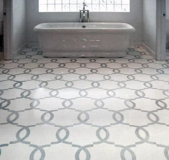 Stunning Interior Grey Bathroom Tile Designs