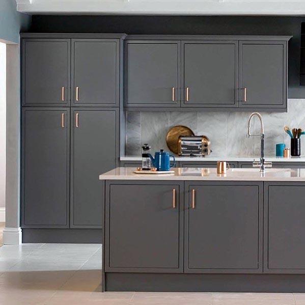 Stunning Interior Grey Kitchen Designs