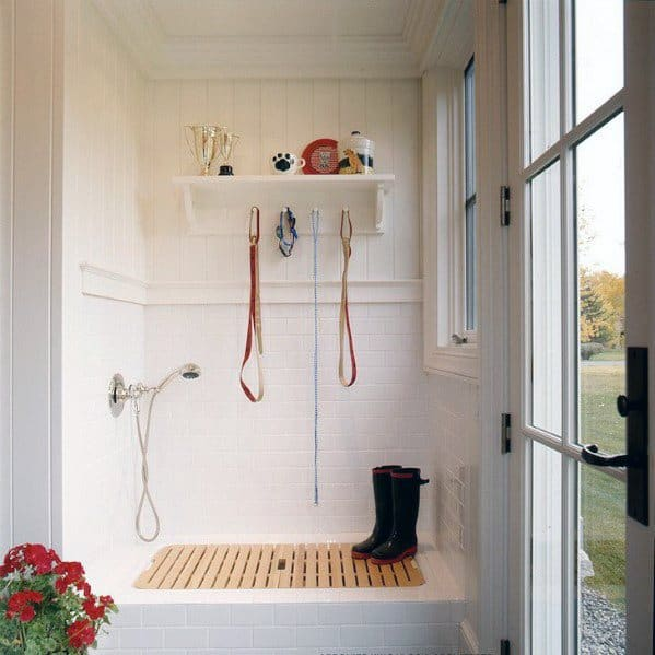 Stunning Interior Home Dog Wash Station Designs
