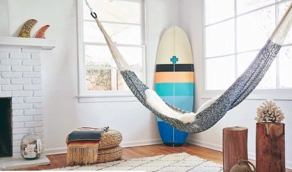 Stunning Interior Ideas For Indoor Hammock Design