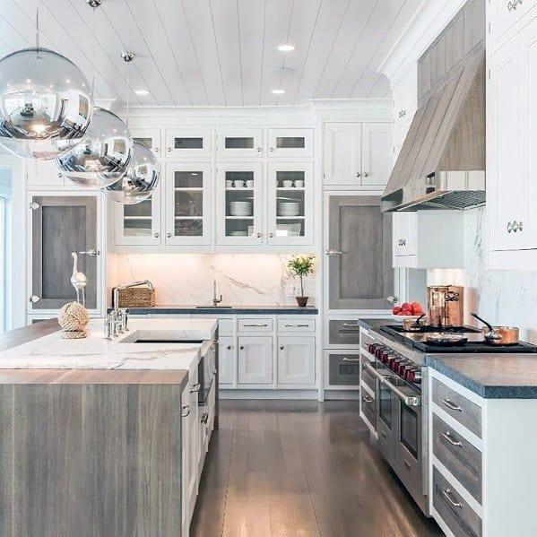Stunning Interior Kitchen Ceiling Designs
