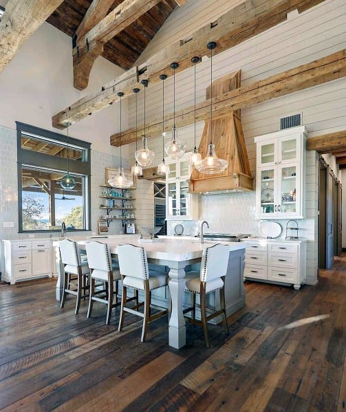 Stunning Interior Kitchen Island Lighting Designs