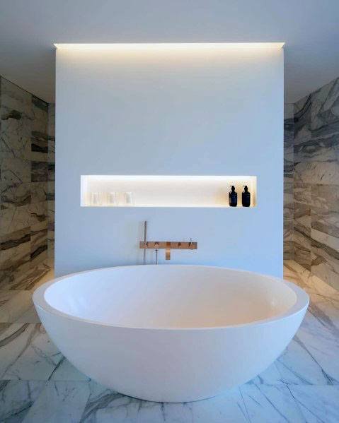 Stunning Interior Marble Bathroom Designs