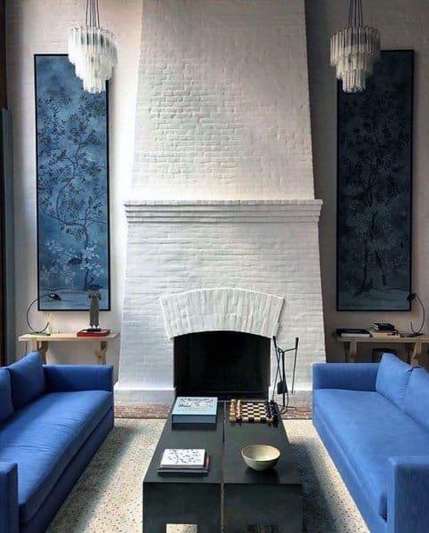 Stunning Interior Painted Fireplace Designs