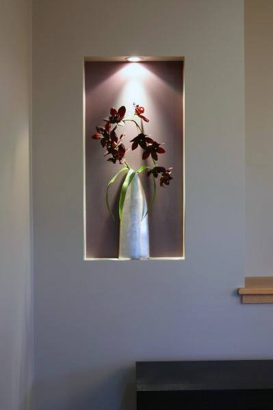 Stunning Interior Recessed Wall Niche Designs