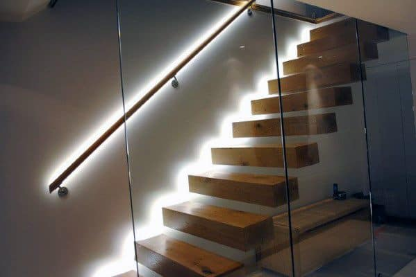 Stunning Interior Staircase Lighting Designs