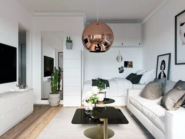 Stunning Interior Studio Apartment Designs
