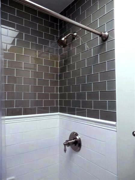 Stunning Interior Subway Tile Shower Designs