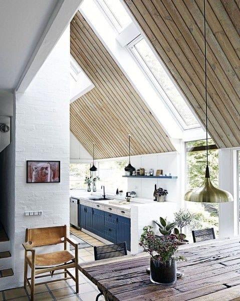 Stunning Interior Vaulted Ceiling Designs