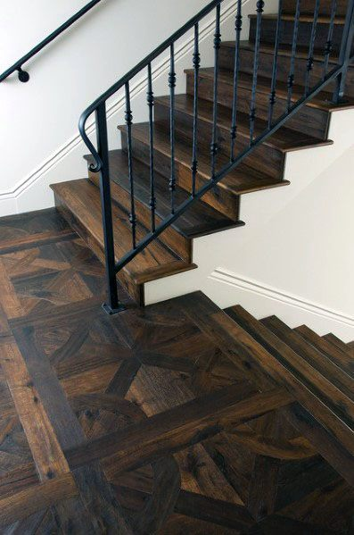 Stunning Interior Wood Stairs Designs