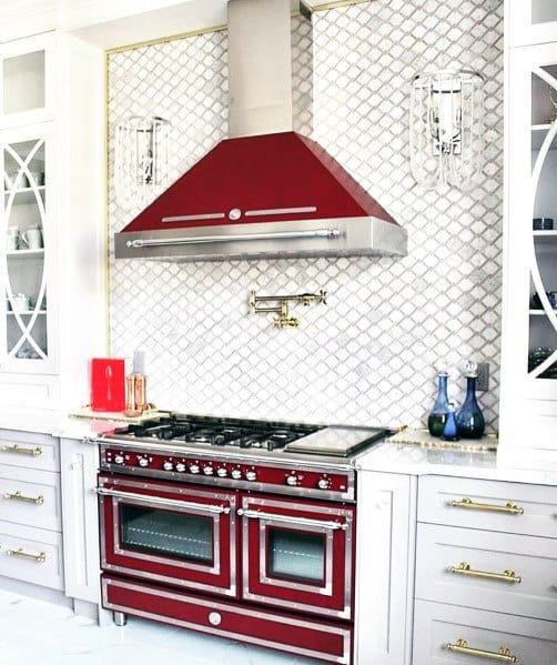 Stunning Kitchen Stone Backsplash Designs