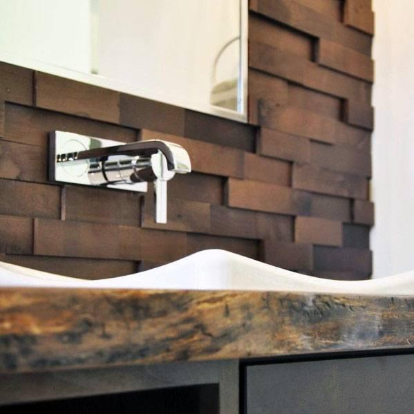 Stunning Kitchen Wood Backsplash Designs