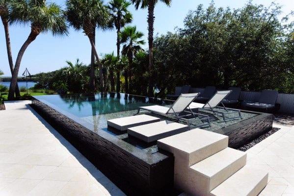 Stunning Modern Pool Tile Designs