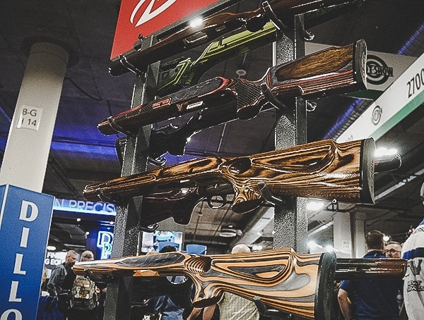 Stunning Wood Rifle Stocks