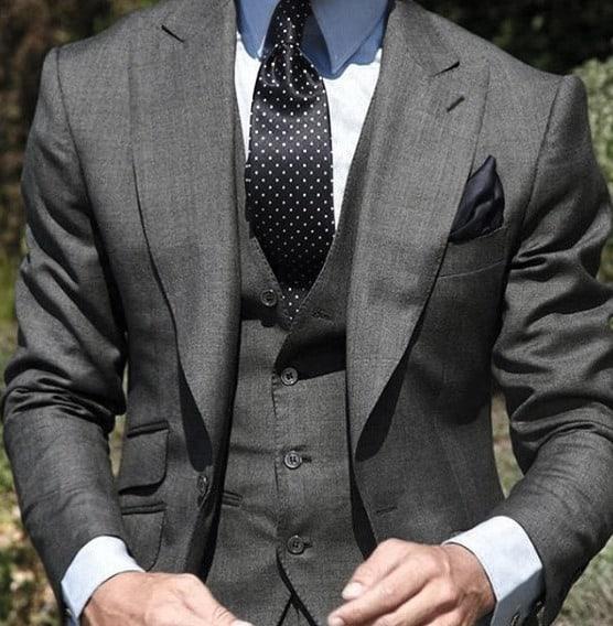 Style Grey Suit Looks Guys