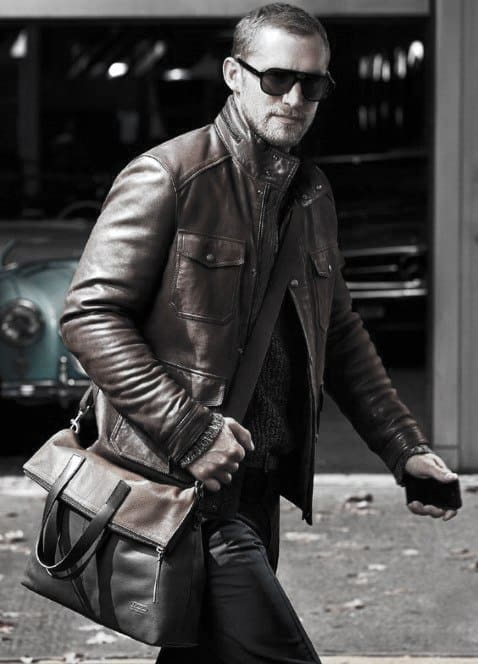 Style Male Looks How To Wear A Leather Jacket Leather Jacket Outfits