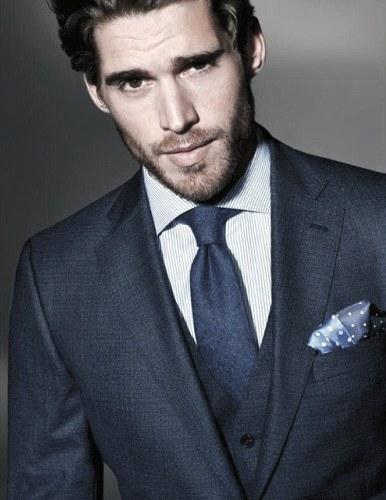 Style Mens Navy Blue Suit Fashion Ideas