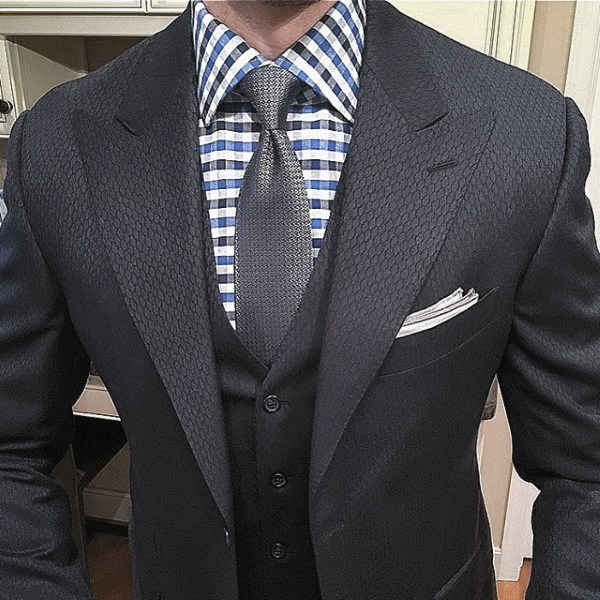 Style Navy Blue Suit Looks Guys