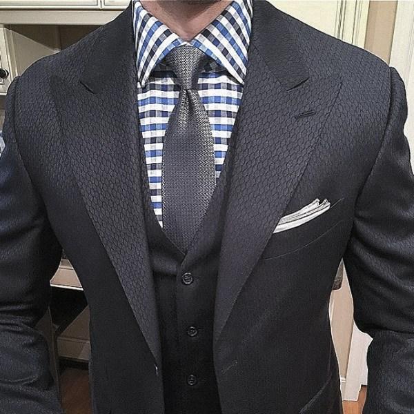 Style Navy Blue Suit Looks Guys