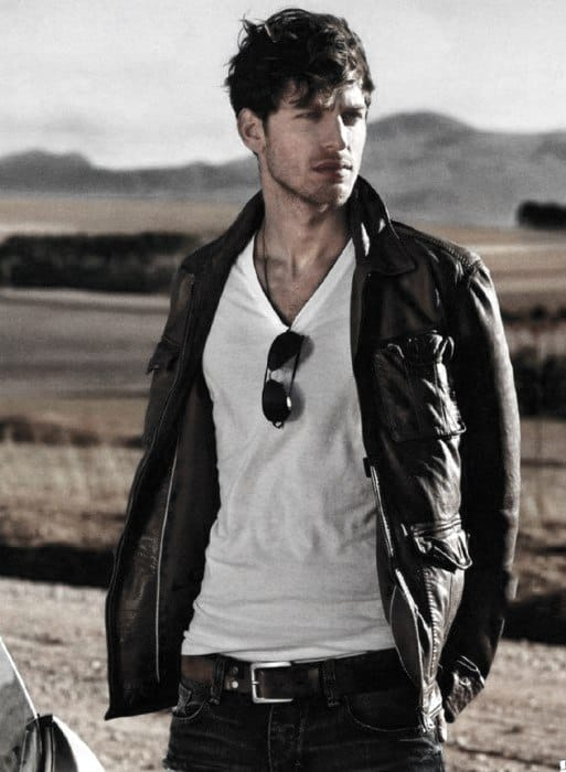 How To Wear A Leather Jacket For Men - 50 Fashion Styles