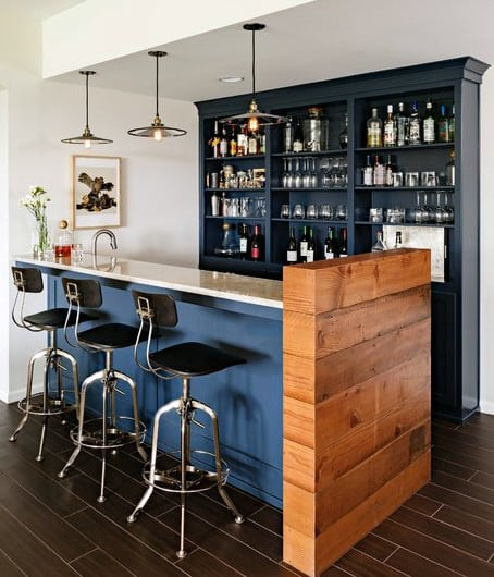 Stylish Bar Designs For Man Caves