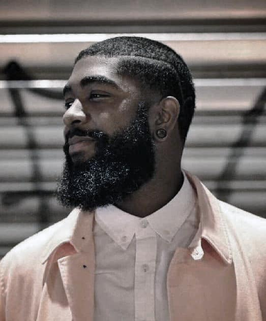 Stylish Black Beard Styles For Black Gentlemen
