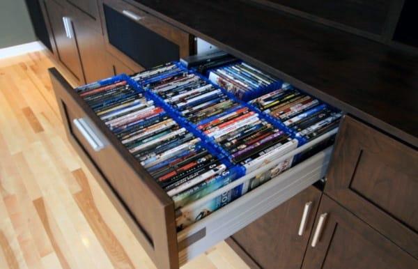 Stylish Dvd Storage