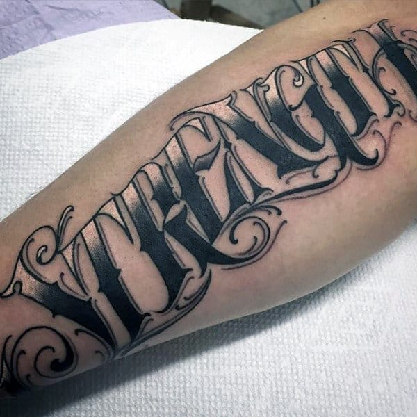Tattoo Text Ideas: Top 73 Tattoo Lettering Ideas [2020 Inspiration Guide]