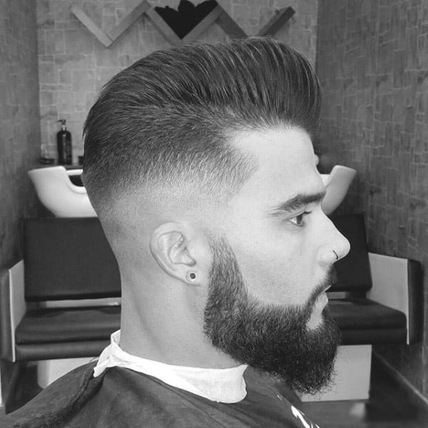 Stylish Long Haircuts For Men With Beards