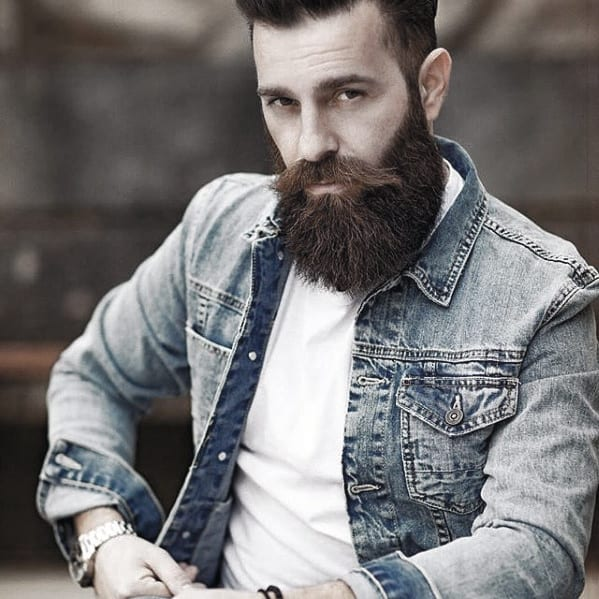 Stylish Male Big Beard Ideas