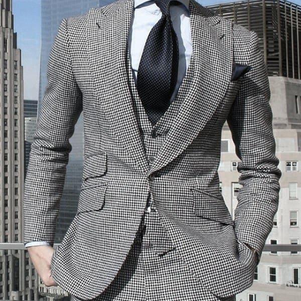 Stylish Male Grey Suit Fashion Ideas