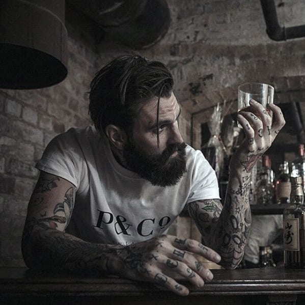 Stylish Male Manly Beard Ideas